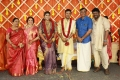 TG Thyagarajan @ Parthiban daughter Abhinaya Wedding Reception Stills