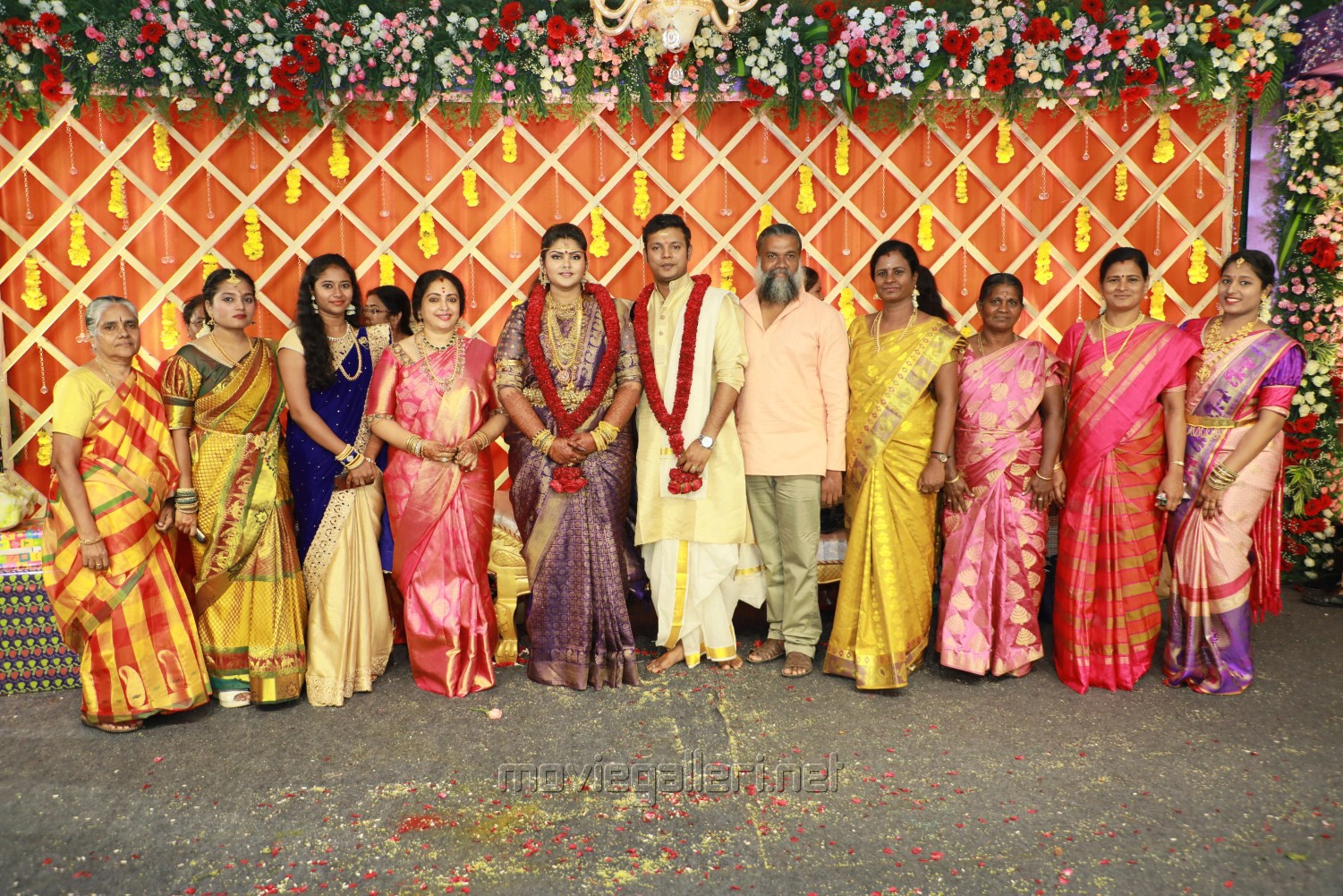 Parthiban daughter Abhinaya Wedding Reception Stills