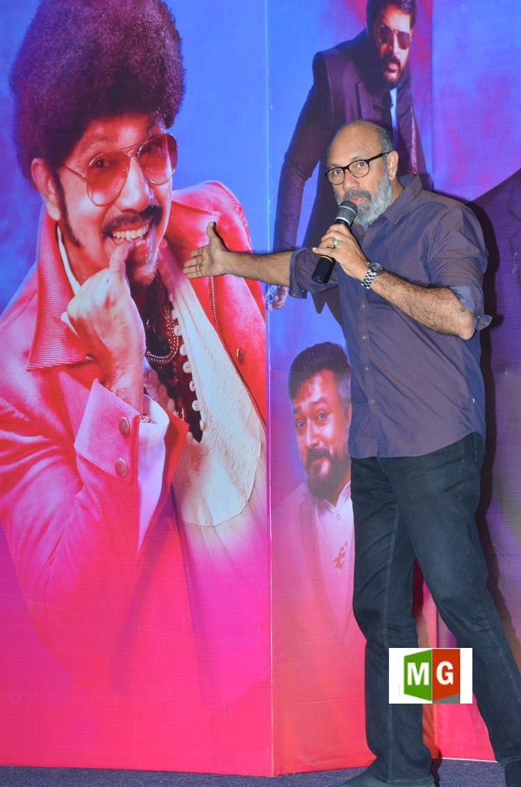 Sathyaraj @ Party Movie Telugu Audio Launch Stills