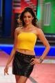 Parvati Melton Hot in Yellow Sleeveless Top & Black Mini Dress