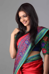 Actress Parvathi Menon in Saree Cute Photos