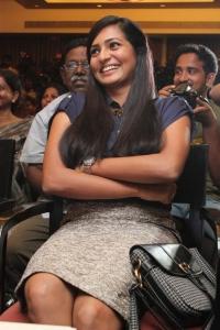 Actress Parvathi Menon Hot Stills @ Mariyaan Press Meet