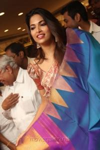 Parvathy Omanakuttan Inaugurates Sri Palam Silk Sarees