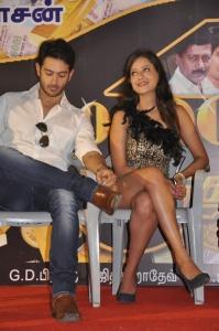 Dhruv, Madalasa Sharma at Pathayeram Kodi Movie Audio Launch Stills