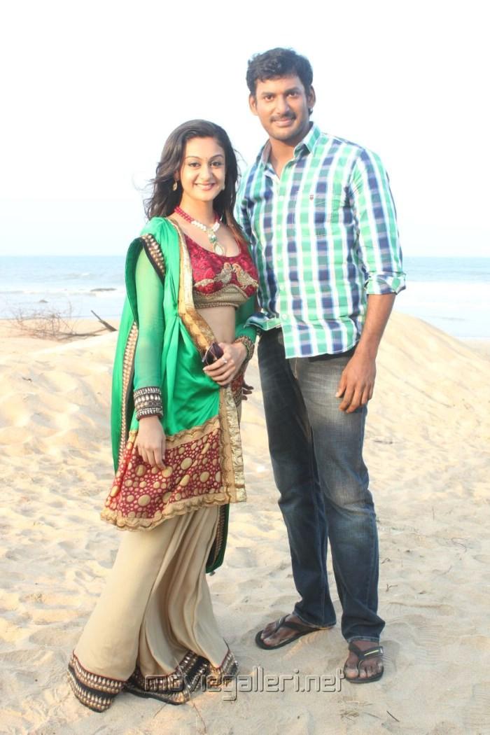 Picture 466425 | Aishwarya Arjun, Vishal at Pattathu ...  Picture 466425 ...