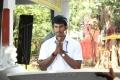 Actor Vishal at Pattathu Yaanai Movie Launch Stills