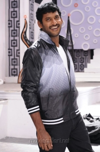Actor Vishal in Pattathu Yaanai Movie Photos