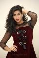 Telugu Actress Pavani Images in Dark Red Dress