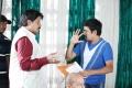 Saikumar, Janardhan Maharshi at Pavitra Movie Working Stills