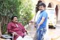 Sai Kumar, Janardhan Maharshi at Pavitra Movie Working Stills