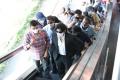 Pawan Kalyan travels in Hyderabad metro for Vakeel Saab Shoot