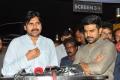 Pawan Kalyan Watches Ram Charan's Rangasthalam Movie at Imax, Hyderabad