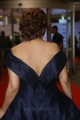 Actress Payal Ghosh Stills in Dark Blue Deep Neck Sleeveless Gown