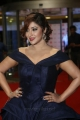 Actress Payal Ghosh Stills in Dark Blue Gown @ Filmfare Awards South 2017