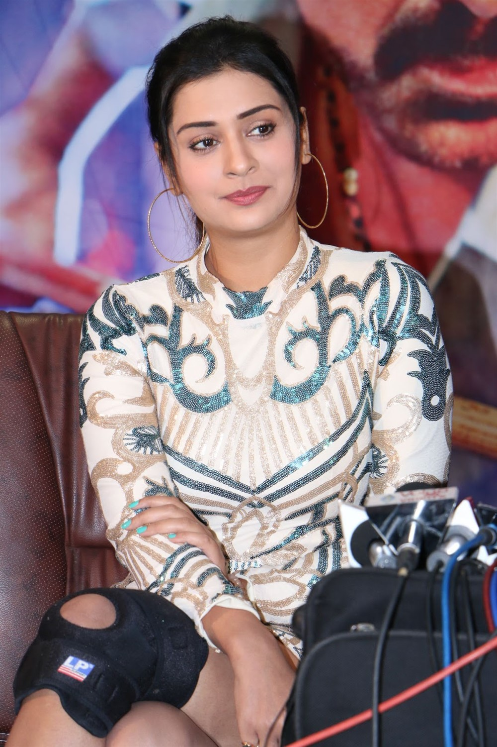 Actress Payal Rajput Images @ Disco Raja Movie Press Meet