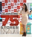 Actress Payal Rajput Launches Bajaj Electronics 75th Store at Shaikpet Hyderabad Photos