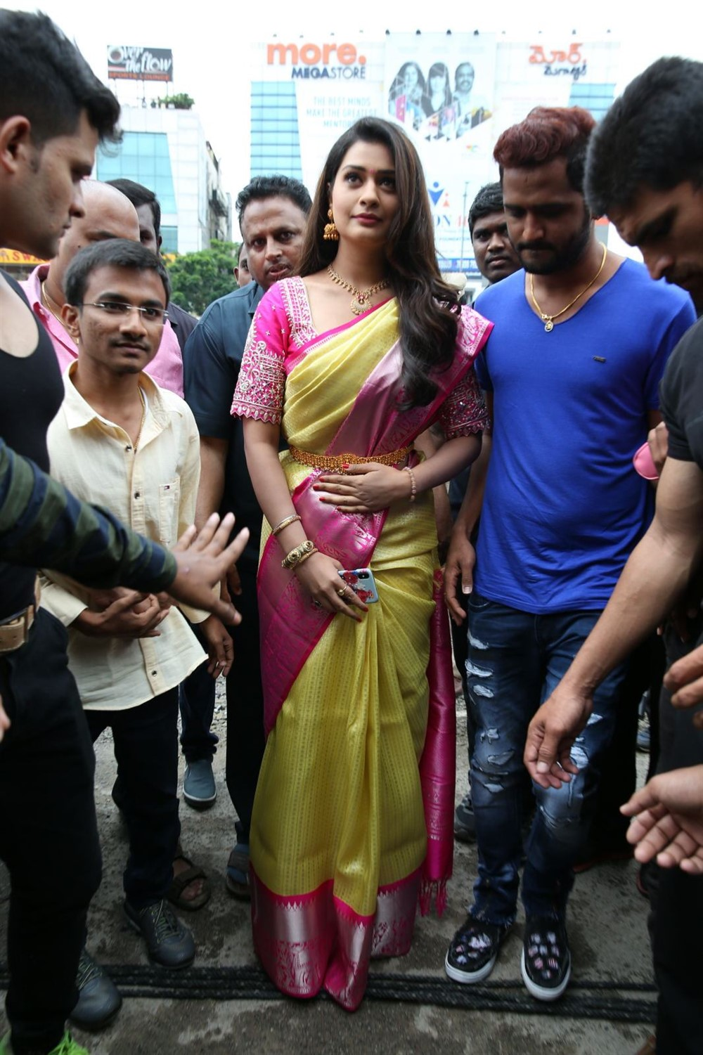 Payal Rajput launches Kalyana Maha Lakshmi Shopping Mall Photos