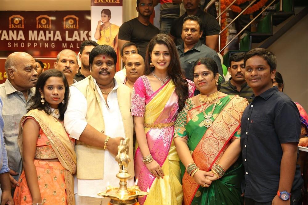 Payal Rajput launches Kalyana Maha Lakshmi Shopping Mall Photos