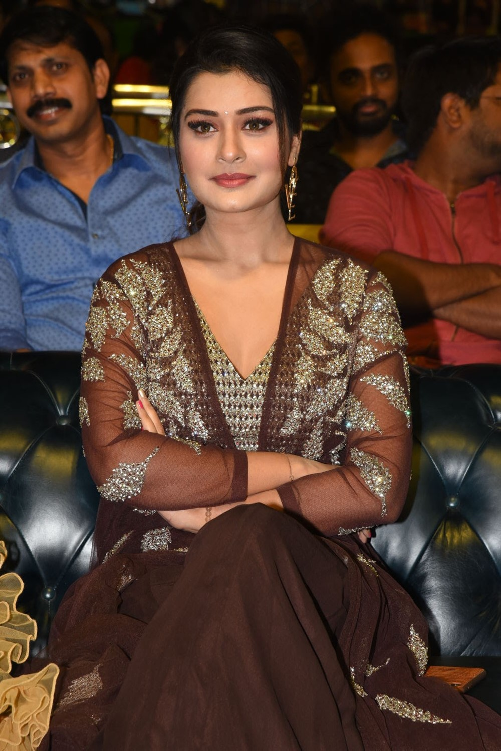 Actress Payal Rajput New Stills @ Venky Mama Movie Pre Release
