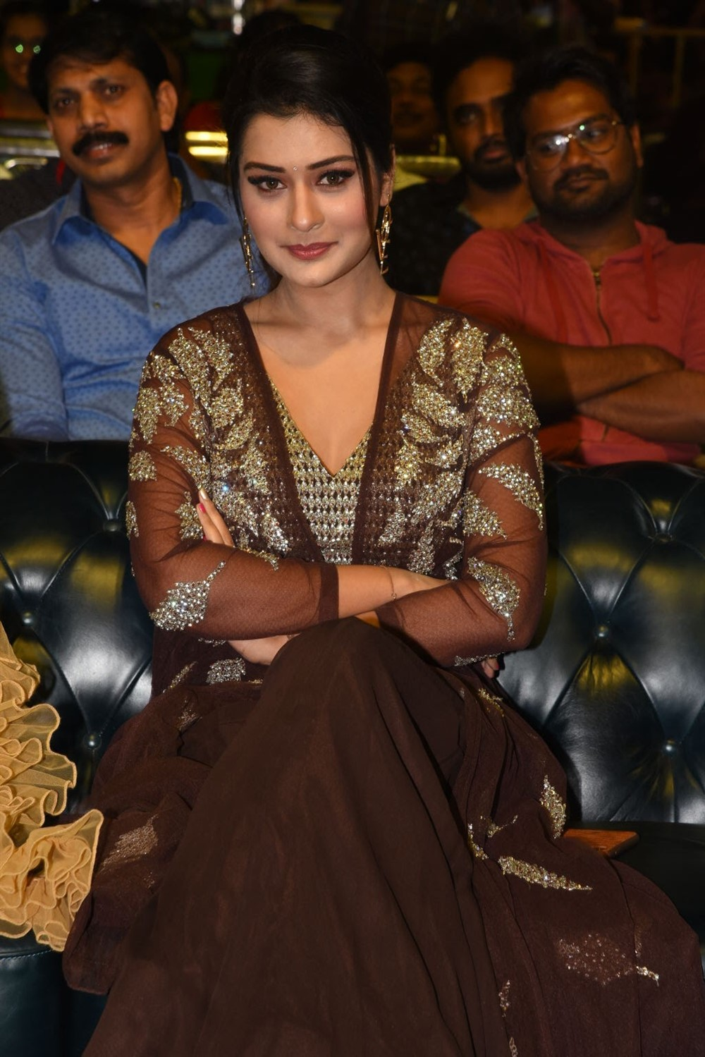 Actress Payal Rajput New Stills @ Venky Mama Pre Release