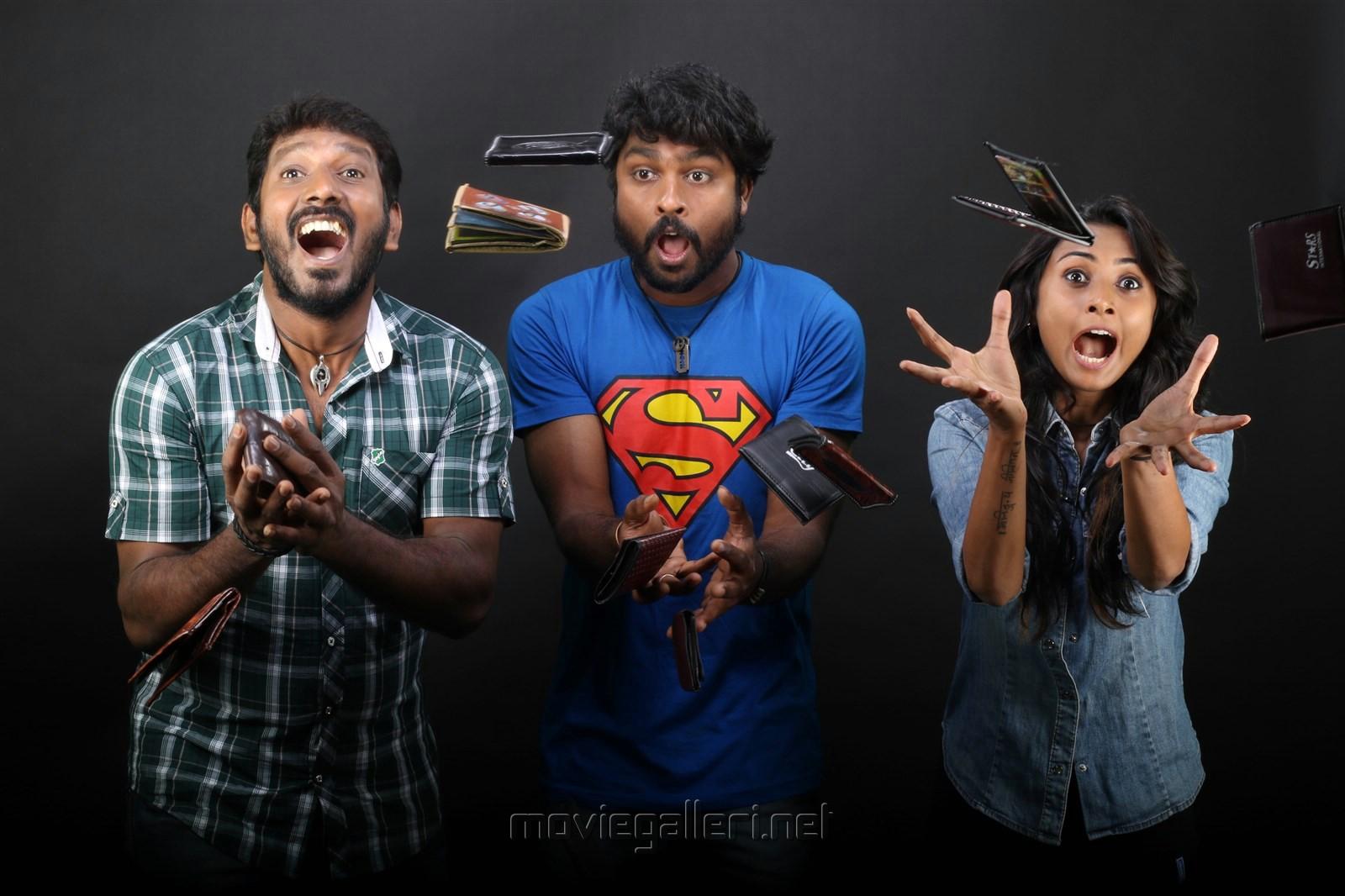 RS Karthik, Sruthi Menon in Peechankai Movie Stills