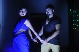 Jothisha, Amar in Pei Irukka Illaya Movie Stills