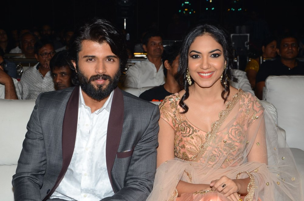 Vijay Devarakonda, Ritu Varma @ Pelli Choopulu Movie Audio Launch Stills