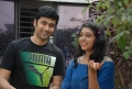 Rahul Ravindran, Niti Taylor at Pelli Pusthakam Press Meet Stills