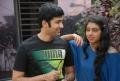 Rahul Ravindran, Niti Taylor at Pelli Pusthakam Movie Press Meet Stills