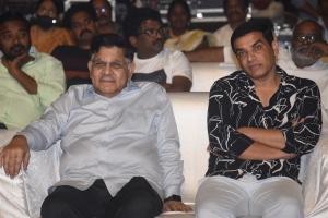 Allu Aravind, Dil Raju @ Pelli SandaD Pre Release Event Stills
