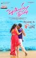 Sunaina, Chethan Cheenu in Pelliki Mundu Prema Katha Movie Release Posters