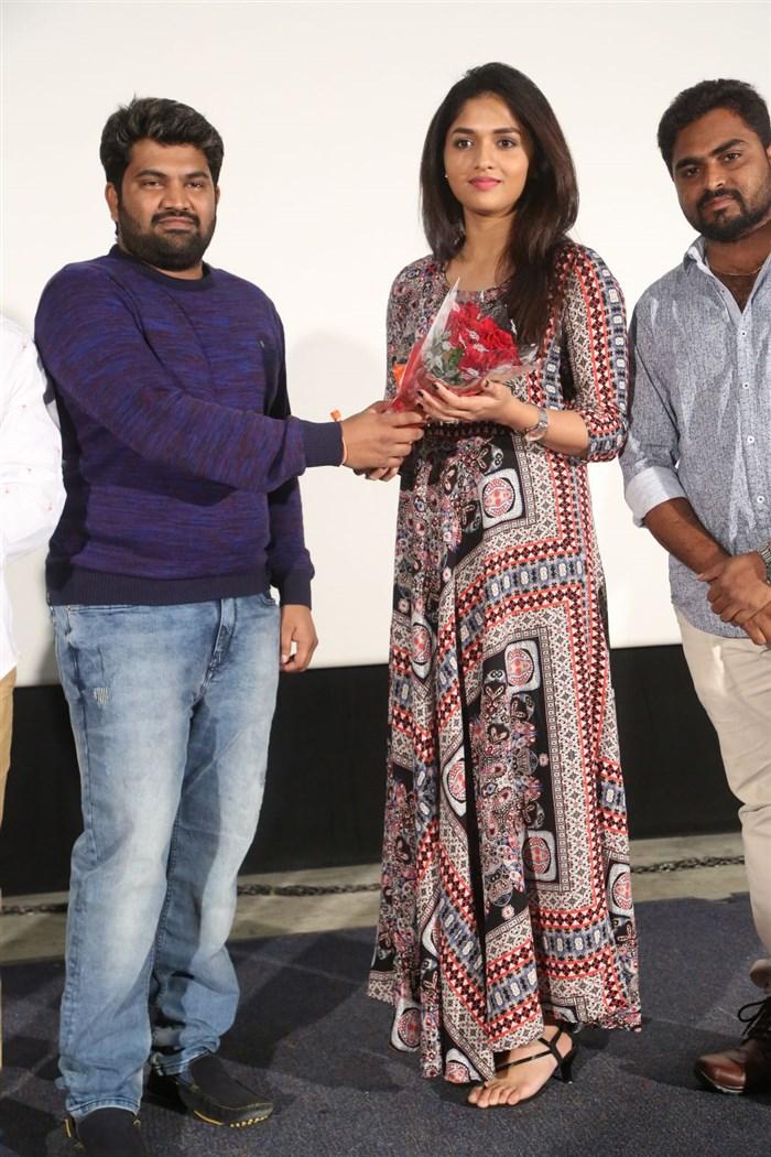 Sunaina @ Pelliki Mundu Prema Katha Teaser Launch Stills