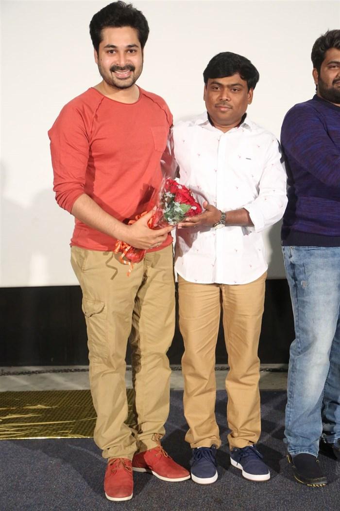 Chetan Seenu @ Pelliki Mundu Prema Katha Teaser Launch Stills