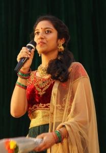 Actress Sadhana @ Peranbu Audio Launch Stills