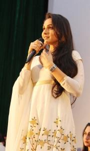 Actress Andrea @ Peranbu Audio Launch Stills