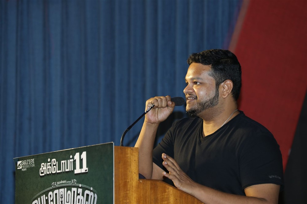 Music Director Ghibran @ Petromax Movie Press Meet Stills