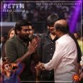 Vijay Sethupathi, Rajinikanth @ Petta Audio Release Photos
