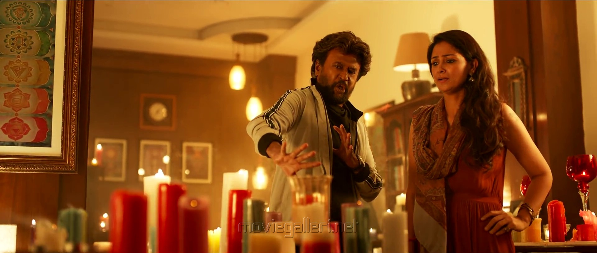 Rajinikanth, Simran in Petta Movie Images HD