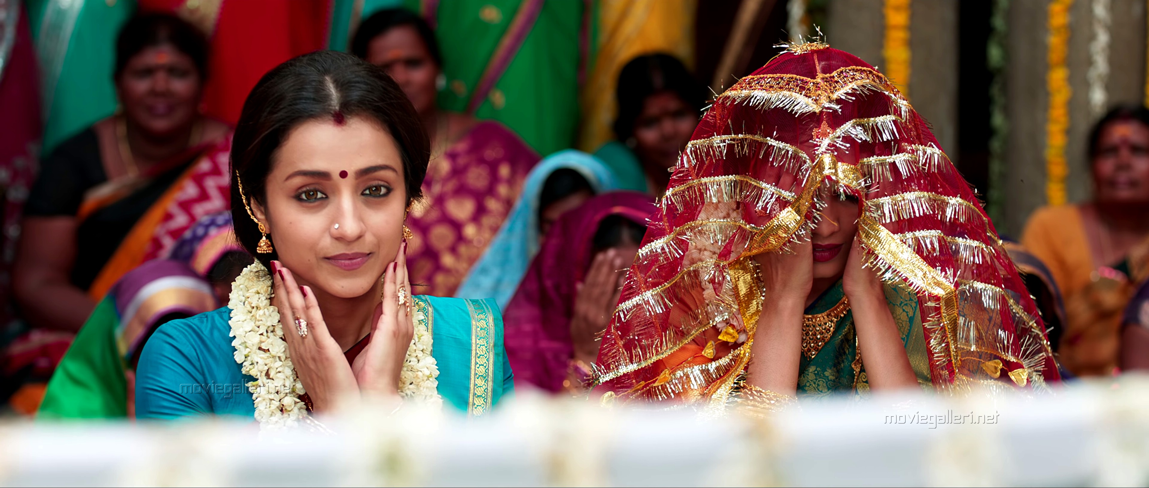 Actress Trisha in Petta Movie Images HD