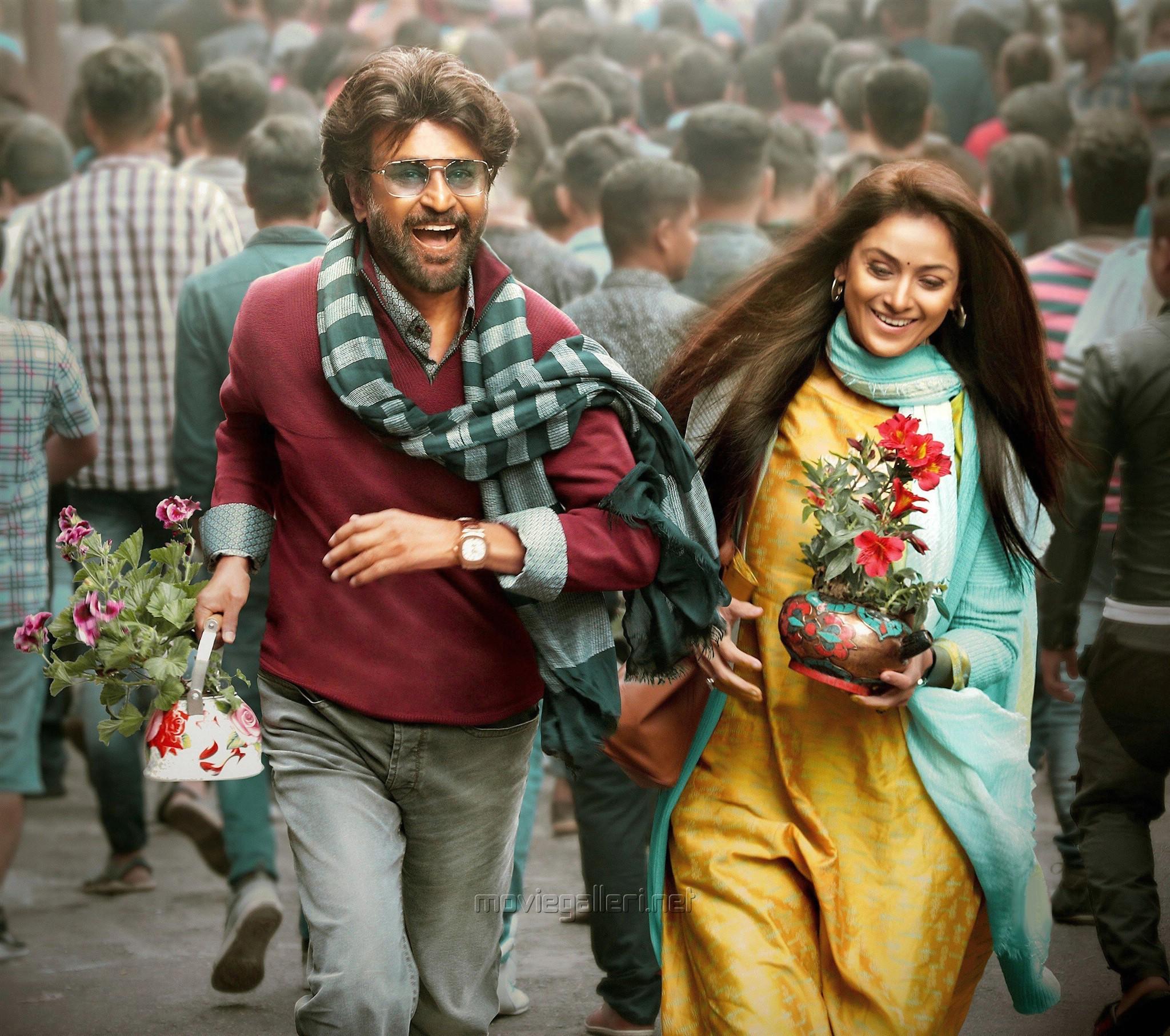Rajini, Simran in Petta Movie Stills HD