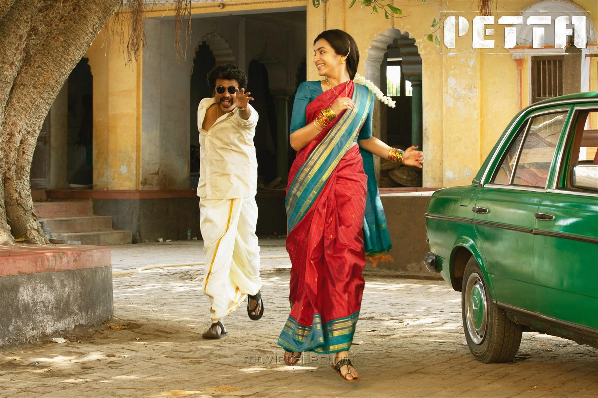 Rajini, Trisha in Petta Movie Stills HD