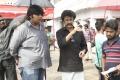 Karthik Subbaraj, Rajinikanth in Petta Movie Shooting Spot Stills