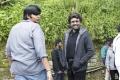 Karthik Subbaraj, Rajinikanth in Petta Shooting Spot Stills