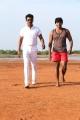 Samuthirakani, Veera in Pettikadai Movie Stills HD