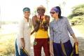 Chandini, Rajendran, Asmitha in Pettikadai Movie Stills HD