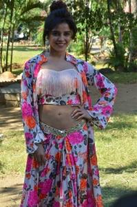 Actress Piaa Bajpai Photos @ Abhiyum Anuvum Press Meet