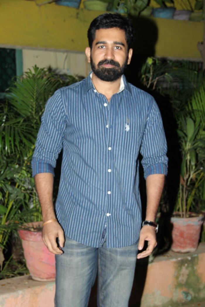 Actor Vijay Antony @ Pichaikaran Movie Success Meet Photos
