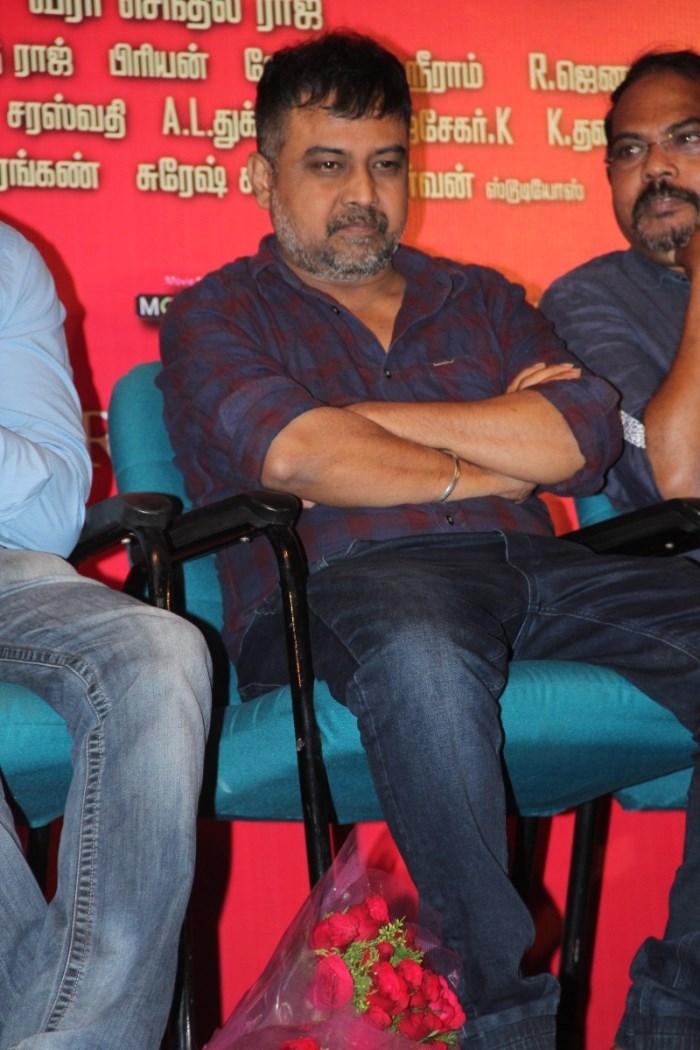 N Lingusamy @ Pichaikaran Movie Success Meet Photos