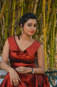 Actress Anisha Xavier @ Pichuva Kaththi Audio Launch Stills
