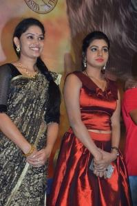 Sri Priyanka, Anisha Xavier @ Pichuva Kaththi Audio Launch Stills